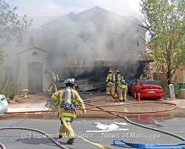 Structure fire 443300 W Maricopa 6/6/2018