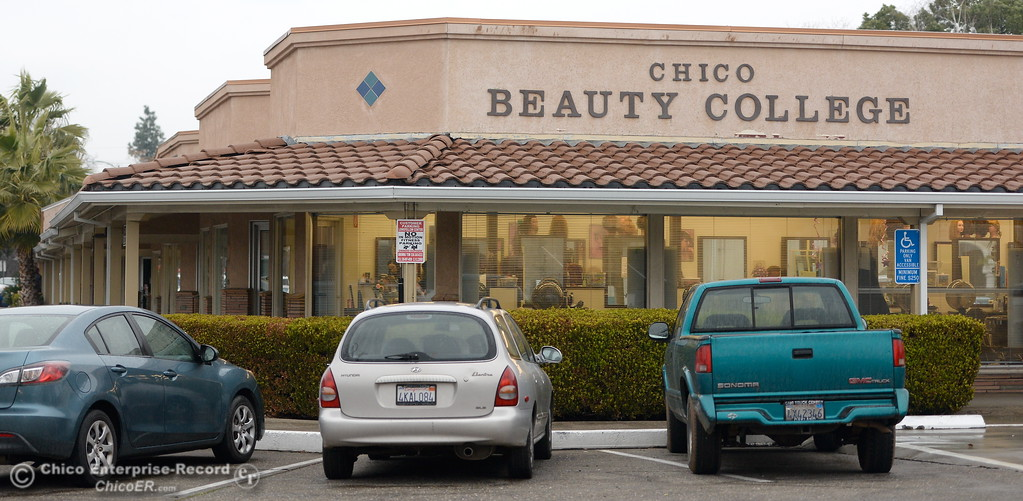 . Chico Beauty College in Chico, Calif. Wed. Jan. 24, 2018.  Bill Husa -- Enterprise-Record)