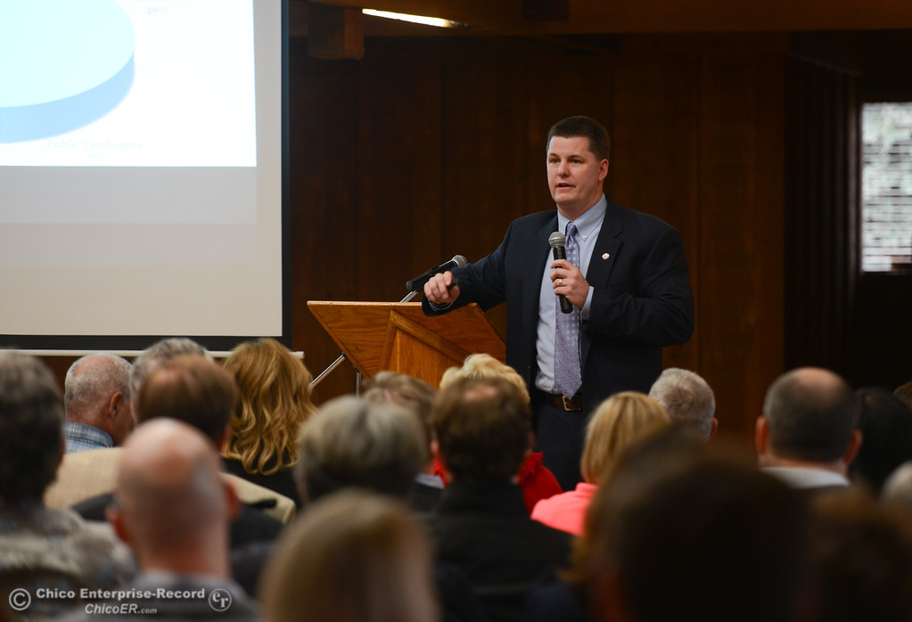 . Annul State of the City presentation. Mayor Sean Morgan will be talking about how Chico is doing, Friday, January 26, 2018 at the Card Center in Chico, California. (Carin Dorghalli -- Enterprise-Record)