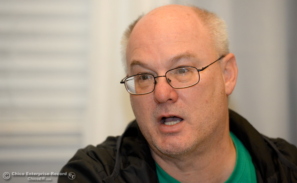 . Supervisor Bill Slack talks about programs available at the Torres Shelter in Chico, Calif. Wed. Jan. 24, 2018.  Bill Husa -- Enterprise-Record)