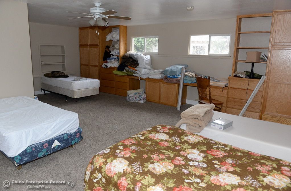 . This room  at the Path to Recovery women\'s home sleeps four in Chico, Calif. Thurs. Jan. 25, 2018.  Bill Husa -- Enterprise-Record)