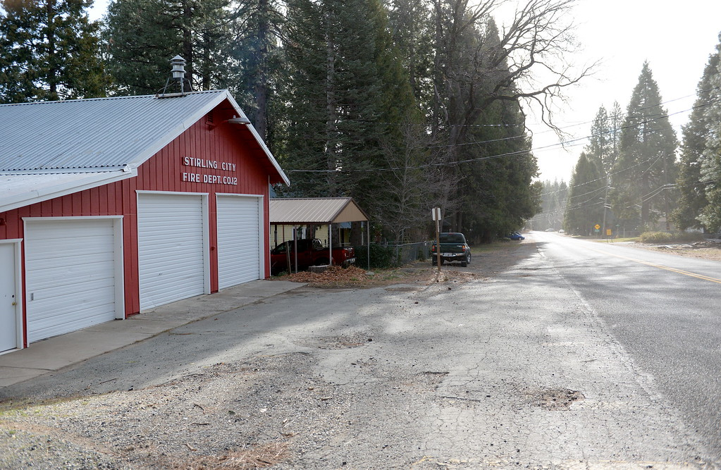 . Stirling City, Inskip, Butte Meadows are all accessible by an average car without 4 wheel drive due to a lack of snow Tuesday Jan. 2, 2018. (Bill Husa -- Enterprise-Record)