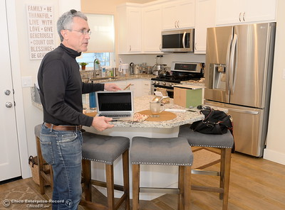 Developer Kevin Kramer talks about the project inside of the kitchen of a single family home that he and his wife Robin occupy at the West Side Place neighborhood on Nord Ave. in Chico, Calif. Wed. Nov. 16, 2016. The area began development many years ago under a different developer but Kramer is currently working on five new fourplexes and has more plans for the area. (Bill Husa -- Enterprise-Record)
