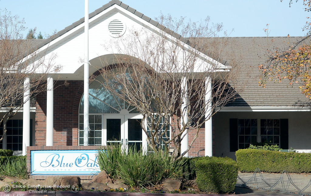 . Blue Oak Charter School in Chico, Calif. Thurs. Nov. 30, 2017.  (Bill Husa -- Enterprise-Record)