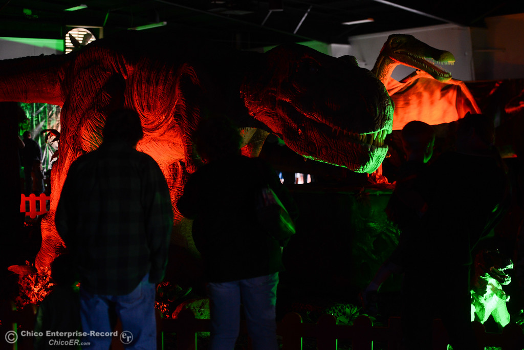 . Jurassic Tour, Saturday, February 10, 2018, in Chico, California. (Carin Dorghalli -- Enterprise-Record)