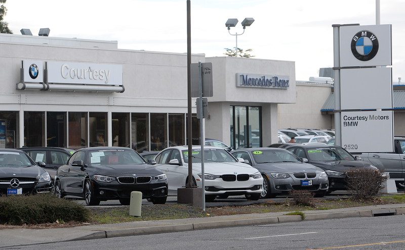 Courtesy Automotive Center hopes to move from its Cohasset Road site to an undeveloped site near Garner Lane and Highway 99. The dealership is seen here at their Cohasset Road location Friday Feb. 3, 2017. (Bill Husa -- Enterprise-Record)