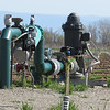 A relatively new well is located in a relatively new orchard in Glenn County, Tuesday, March 15, 2016. (Heather Hacking-Enterprise-Record).