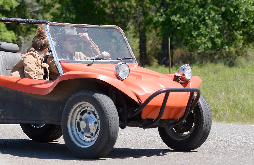 . A vehicle that looks like a fun, sunny day ride is seen near Wildwood Park in Upper Bidwell Park in Chico, Calif. Tues. April 17, 2018.  (Bill Husa -- Enterprise-Record)