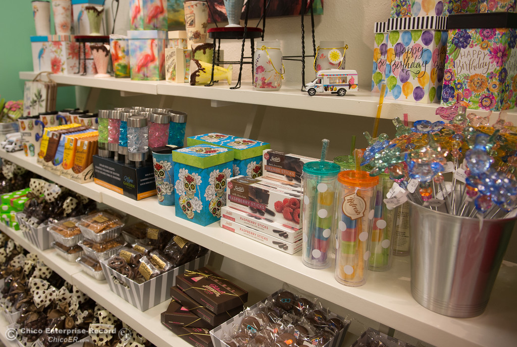 . The walls of Shubert\'s are lined with candies, trinkets, toys and sweets, May 11, 2018,  in Chico, California. (Carin Dorghalli -- Enterprise-Record)