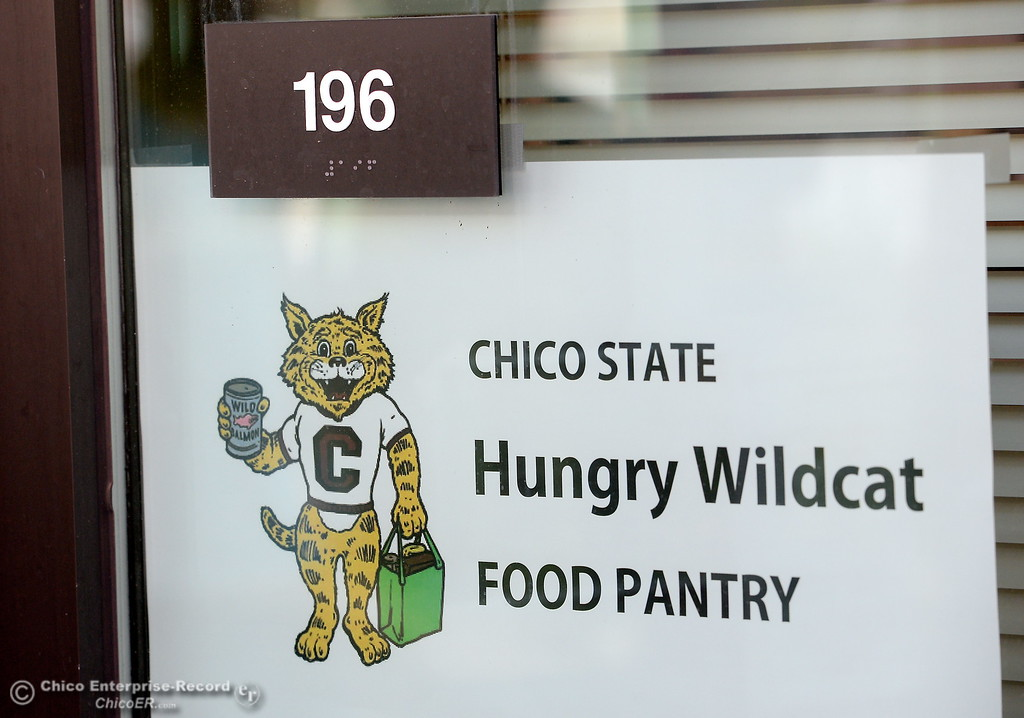 . The Hungry Wildcat Food Pantry located at the Student Services Center room 196 on the CSUC campus Tuesday May 8, 2018. (Bill Husa -- Enterprise-Record)