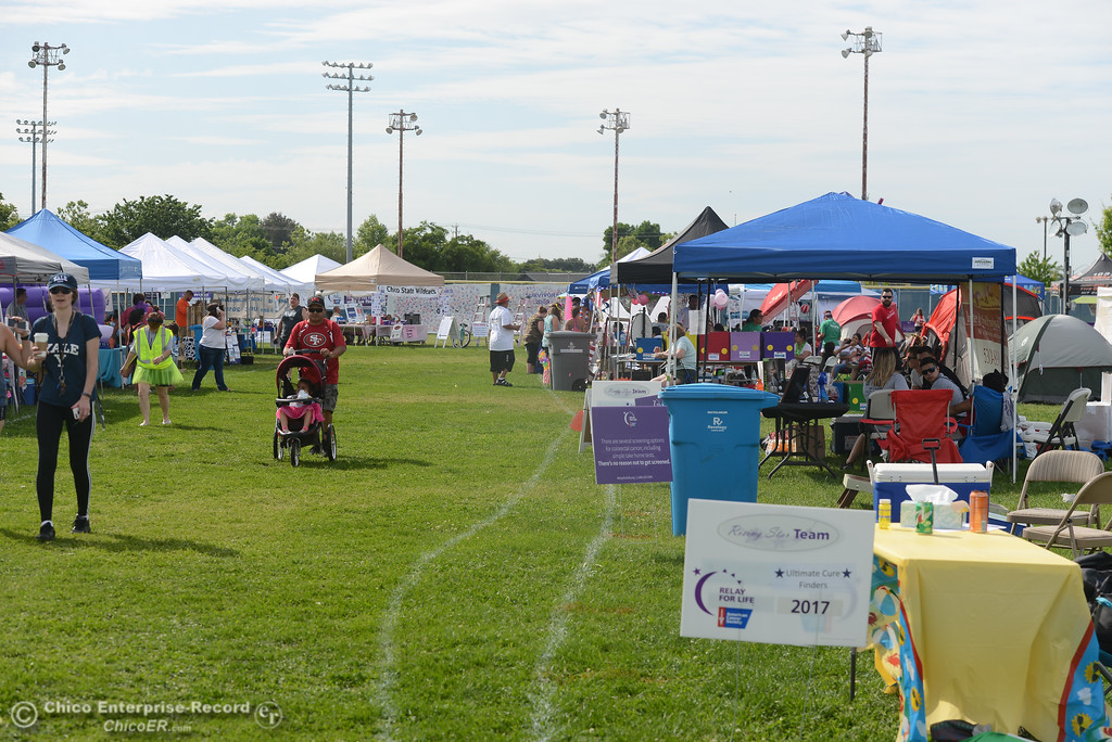 . Relay for Life, May 5, 2018,  in Chico, California. (Carin Dorghalli -- Enterprise-Record)