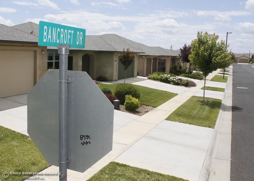 . Bancroft Drive Monday June 12, 2017 in Chico, California. (Emily Bertolino -- Enterprise-Record)
