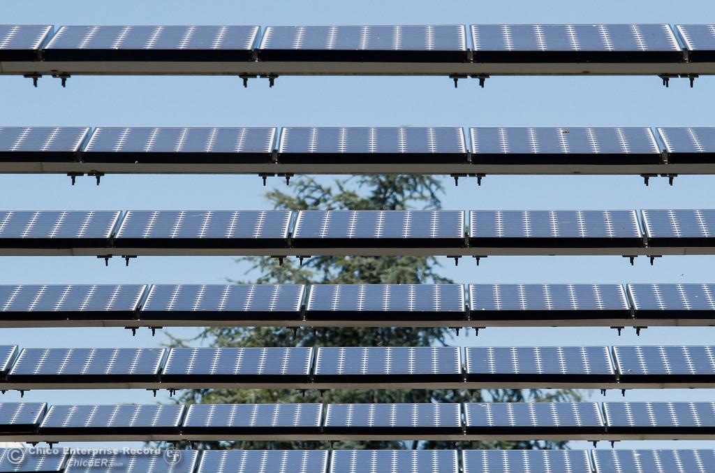 . Solar panels Tuesday June 13, 2017 at Sierra Nevada Brewing Company in Chico, California. (Emily Bertolino -- Enterprise-Record)