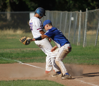 Chico Nuts host the Humboldt Eagles in a doubleheader Saturday July 8, 2017 at Hooker Oak Park in Chico, California.  (Emily Bertolino -- Enterprise-Record)