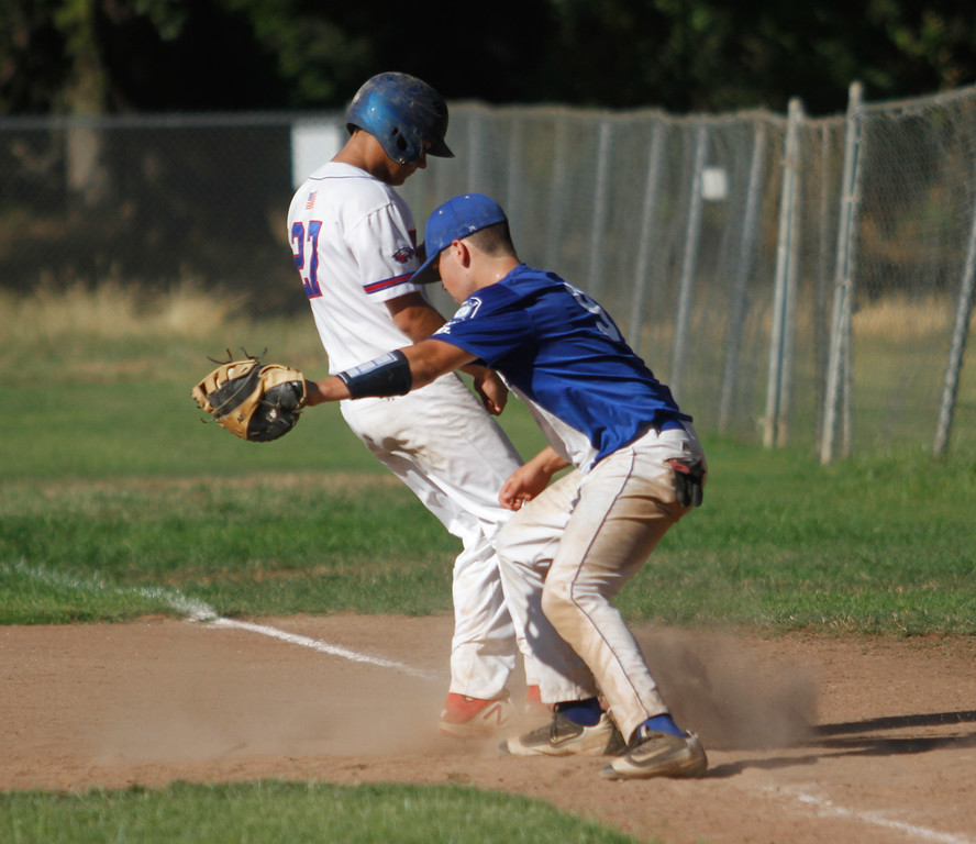 . Chico Nuts host the Humboldt Eagles in a doubleheader Saturday July 8, 2017 at Hooker Oak Park in Chico, California.  (Emily Bertolino -- Enterprise-Record)