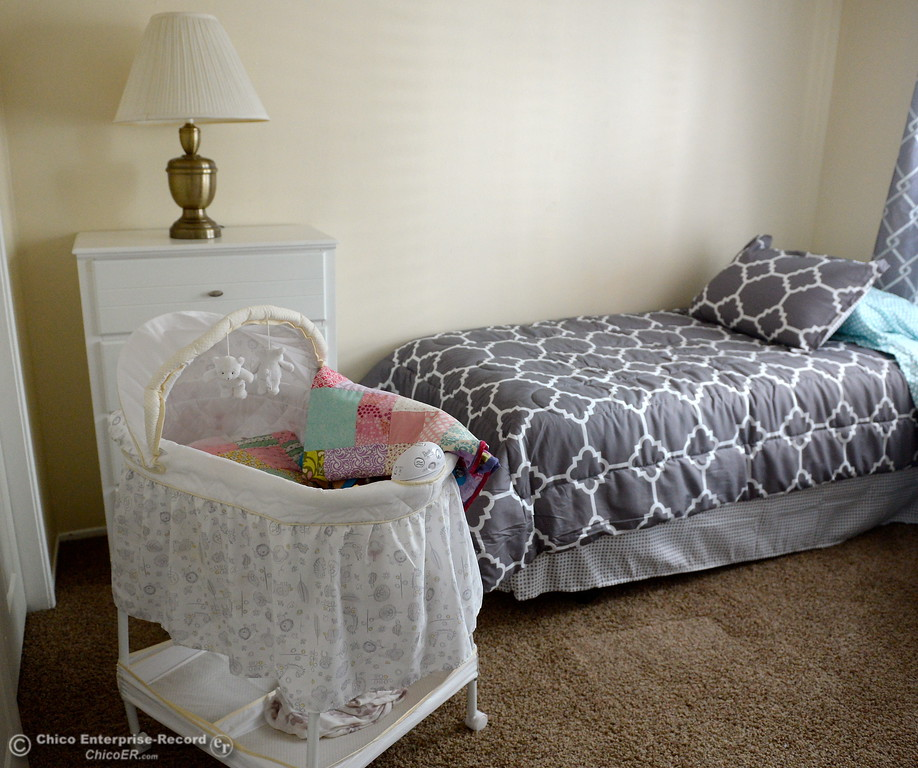 . Items for new mothers are seen during a tour of the Lily House in Chico, Calif. Thurs. July 13, 2017. Lily House is the Jesus Center\'s new home for pregnant mothers/mothers with newborns. (Bill Husa -- Enterprise-Record)