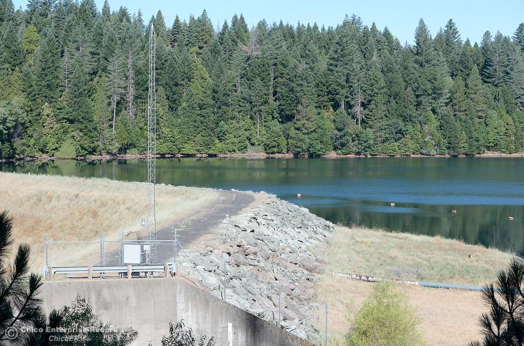 . The Dam at Paradise Lake is seen at Tuesday July 18, 2017. (Bill Husa -- Enterprise-Record)