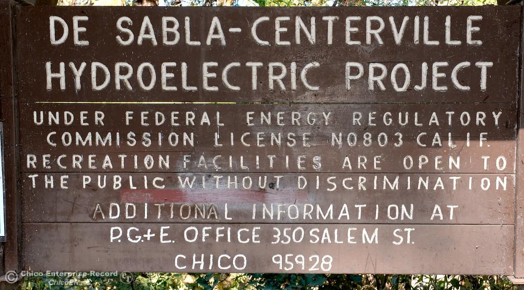. at De Sabla Reservoir in Magalia, Calif. Tuesday July 18, 2017. (Bill Husa -- Enterprise-Record)