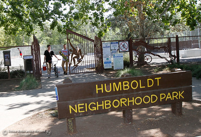 The Chico Area Recreation and Park District is holding a meeting next Tuesday to take feedback on a design for a renovation of the Humboldt Avenue skate park to make it more challenging August 17, 2016 at the Humboldt Skate Park in Chico, Calif. (Emily Bertolino -- Enterprise-Record)