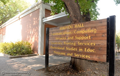 Siskiyou Hall on the CSUC campus is going to be torn down and rebuilt at some point. Here, Siskiyou Hall is seen Fri. Sept. 1, 2017.  (Bill Husa -- Enterprise-Record)