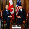 Justin Trudeau, Joe Biden