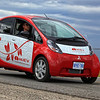 Mitsubishi MiEv Electric Vehicle.