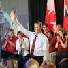 Ontario Premier Dalton McGuinty accepts his nomination as Ontario Liberal Party candidate for Ottawa South in Ottawa, Monday, September 10, 2007. Photo by Patrick Doyle.