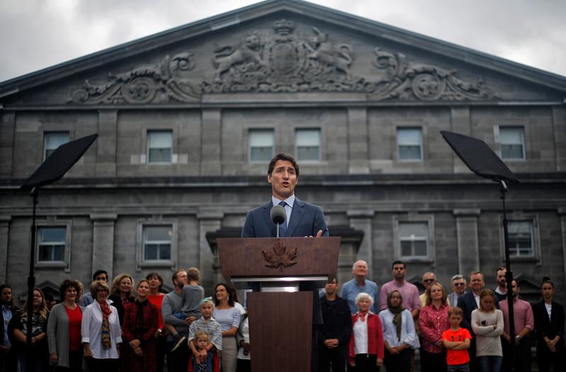 CANADA-ELECTION/TRUDEAU