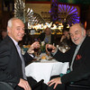 Film Fest Dinner. (left) Organizer, Didier Farré and Jacques Le Glou. Photo by Patrick Doyle.