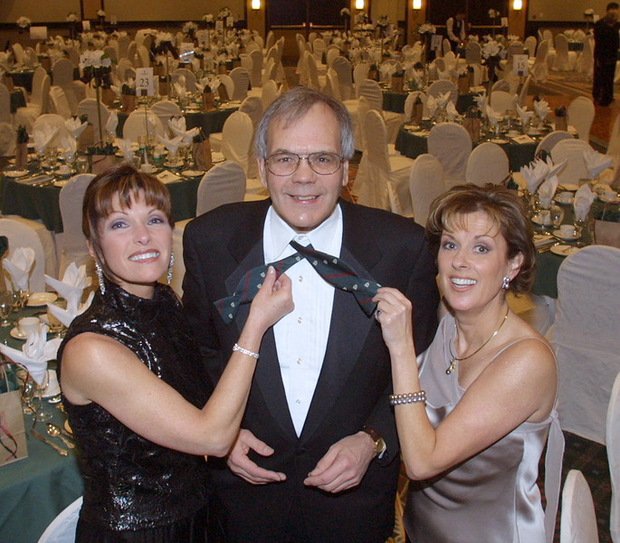 (L to R) Diane Orange, Dr. Chris Carruthers and Vicky Wilgress. Photo by Patrick Doyle.