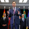 Bill Morneau, Cameron Friesen, Heath MacDonald, Carlos Leitao, Tom Osborne