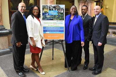 Mayor announces Celebrate City Living Expo. 3/28/2017