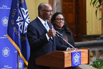 Mayor appoints Dr. Cedric Alexander to be Deputy Mayor. 3/13/2017