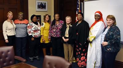 Nigerian Officials Visit City Hall - 11/3/2016