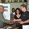 Ribbon Cutting with Mayor Johnson 10/25/2002.