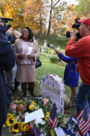 Susan B. Anthony Grave on Election Day - 11/8/2016