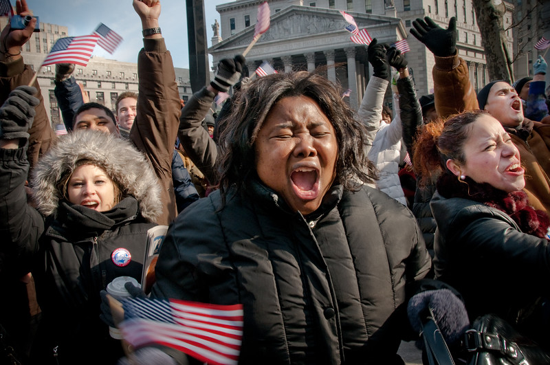 Reaction to Obama's inauguration