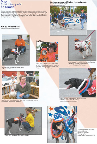 Images of mine were published in a newspaper