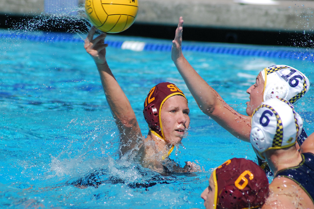 "The Women's 2010 UCI Invitational brought most of the top college teams in the Country to Irvine in February - with USC prevailing over Stanford in the Championship game.  Click here to see all eight of the <a href=""/share/65wg00MYcctLk"">Final round of Games</a> at UCI including the 3rd place game between UCLA and Cal which went into six sudden death overtimes!  USC, Stanford, UCLA, Cal, Hawaii, ASU, San Jose, Michigan...  Note: Not including the thumbnail photos in each gallery, MyWaterPoloPics.com photos were viewed 43,332 times in February."