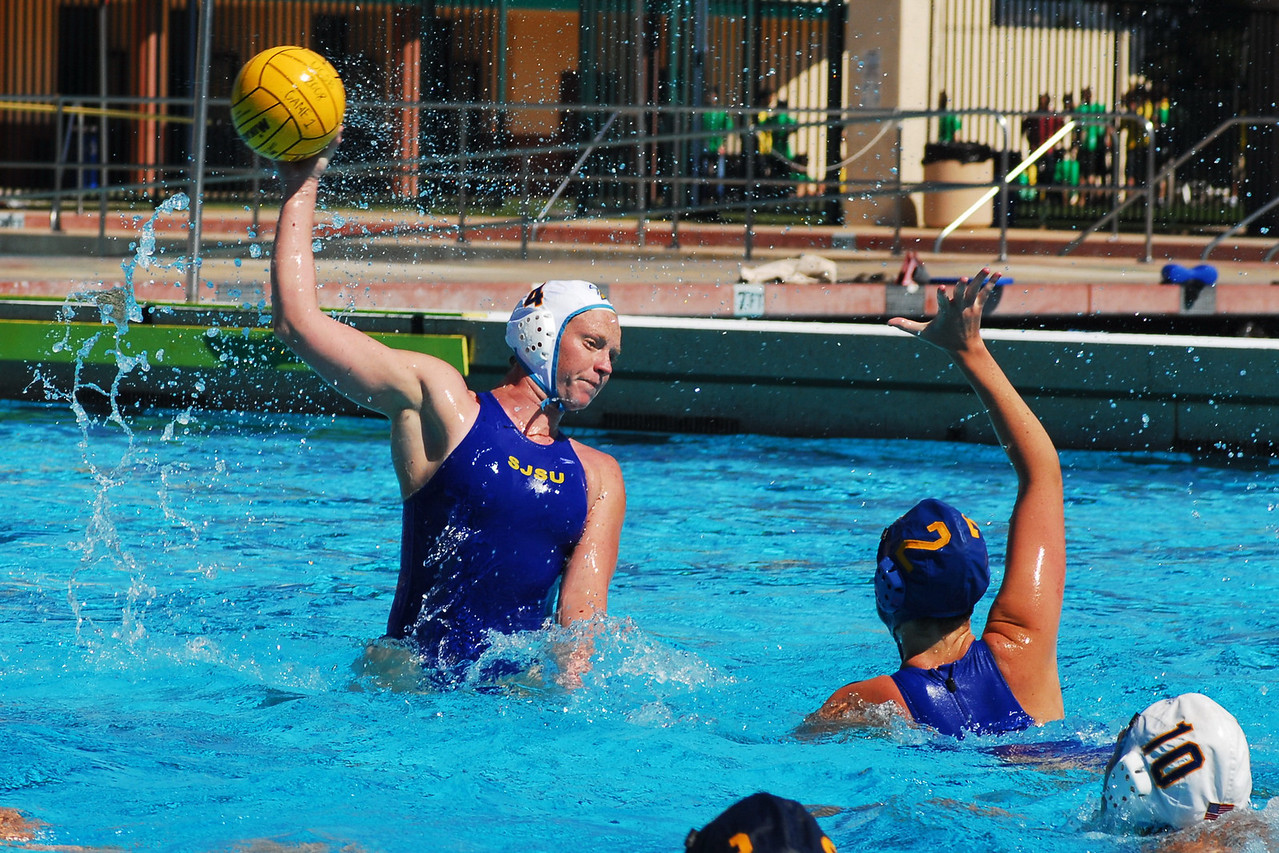 "San Jose State beat the UCSB Women in an exciting 6 to 5 game on March 8, 2008.  This is the first NCAA game posted on MyWaterPoloPics.com.  Click <a href=""/gallery/4481258_mYM3r"">here</a> to see the photos."