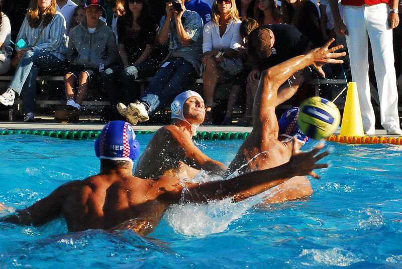"After losing a game earlier in the week the USA Men's National Team defeated the <a href=""/gallery/5071885_6WHrj"">Croatian National Team</a> 8 to 5 at a jam packed Oaks Christian School aquatics facility in Westlake, California. 5/31/08  The USA men followed up that win with a 6 to 4 win over <a href=""/gallery/5133591_H5JhA"">Australia</a> at the Soda Aquatics Center in Moraga, California a week later. 6/7/08  Note: Not including the thumbnail photos in each gallery, MyWaterPoloPics.com photos were viewed 57,116 times in May - the third month of publication."