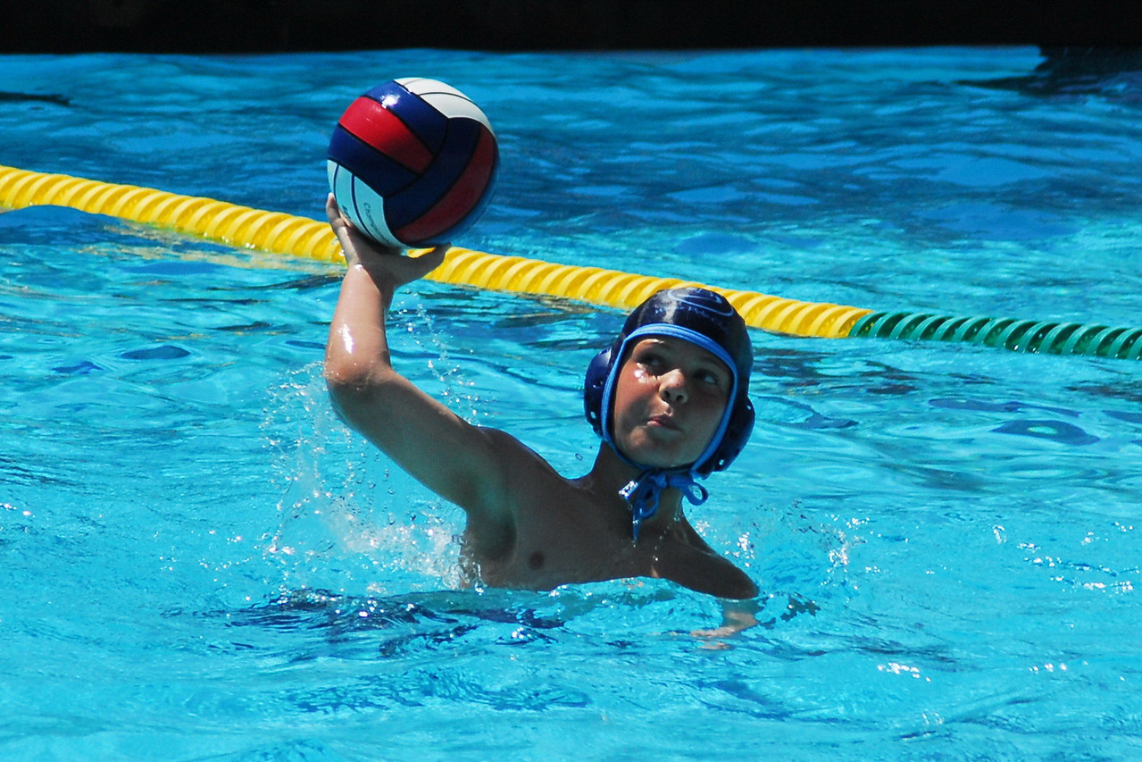 """<a href=""""/share/mGVqzoemcKWos"""">The San Diego County Cup 2008</a> is one of the biggest age group tourneys in the Country.  They are great hosts! This year they had 148 teams with over 2,000 players competing in 4th grade coed, 6th grade boys and girls divisions, and two divisions each of 8th grade boys and girls.  Note: Not including the thumbnail photos in each gallery, MyWaterPoloPics.com photos were viewed 57,461 times in April - the second month of publication.  5/3/08"""