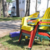 Record-Eagle/Vanessa McCray<br /> Here: Stack of brightly colored chairs. Found: 3:48 p.m. on April 29.