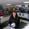 Record-Eagle/Keith King<br /> Tracy Stachnik, owner, stands in MC Short Stop in Maple City.