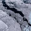 Record-Eagle/Pete Rodman<br /> Ice in Lake Michigan near Petoskey on Thursday.