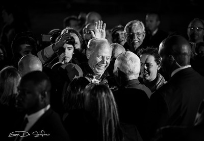 Vice President-Elect Mike Pence welcomes supporters at the Indianapolis Airport Welcome Home Rally on November 10, 2016. Photo/ Evan De Stefano