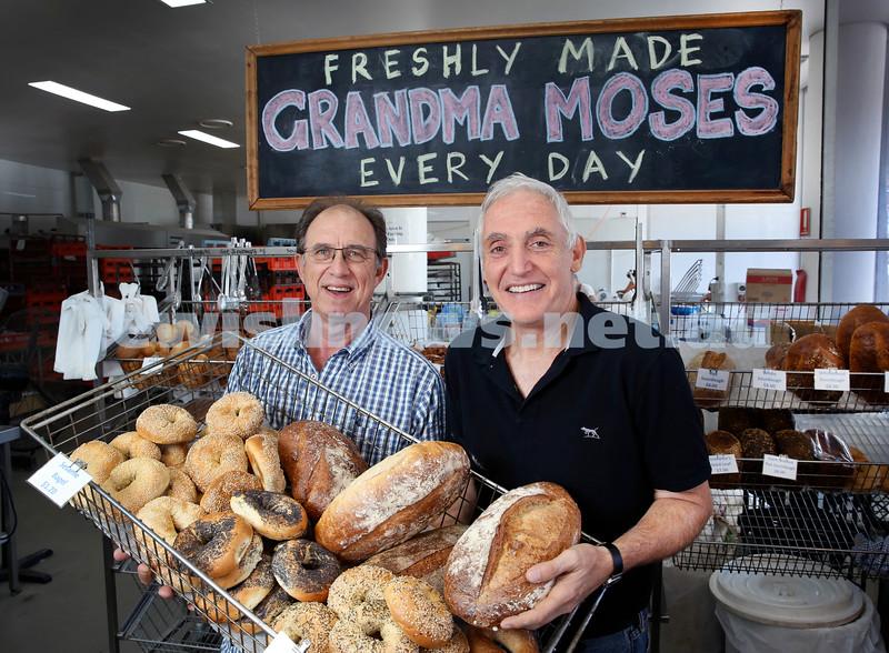 New Grandma Moses owners Peter Van Der Poel (left), Manfred Freinkel. Pic Noel Kessel