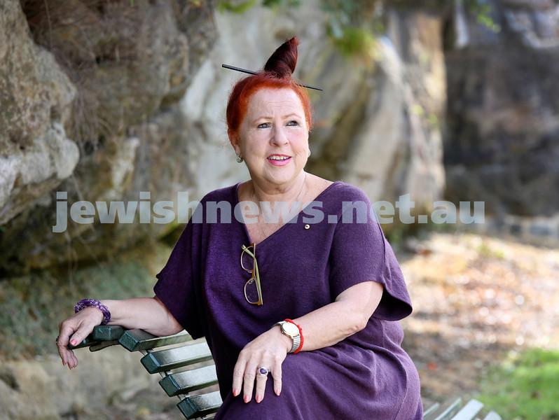 Geraldine Cox founder of Sunrise Cambodia, visiting Sydney. Pic Noel Kessel