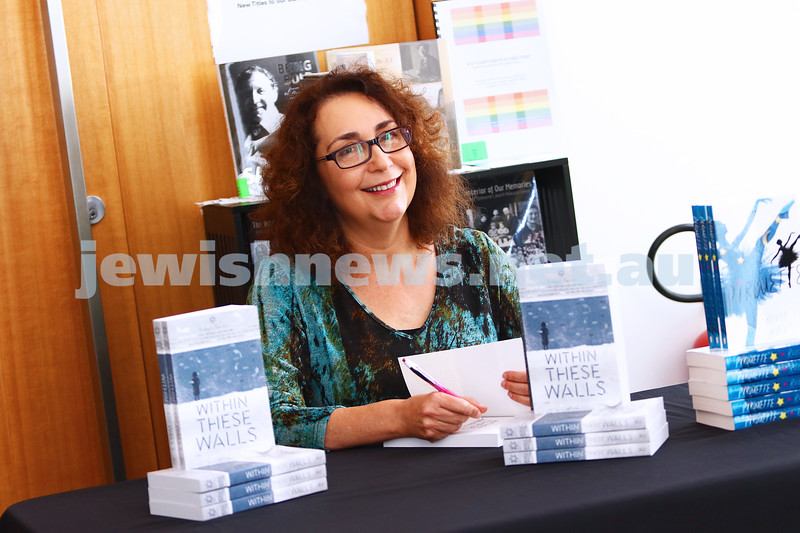 "3-4-16. Robyn Bavati book launch, ""Within Thes Walls"". Photo: Peter Haskin"