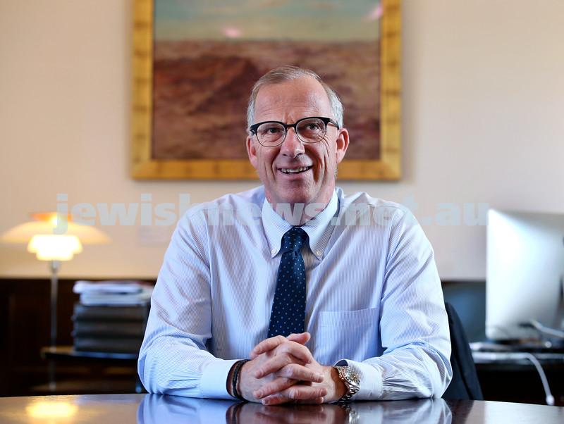 Sydney University Chancellor Dr.Miachel Spence. Pic Noel Kessel.